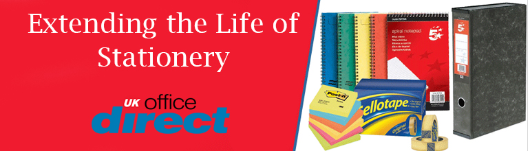 UK Office Direct Prolong life of stationery
