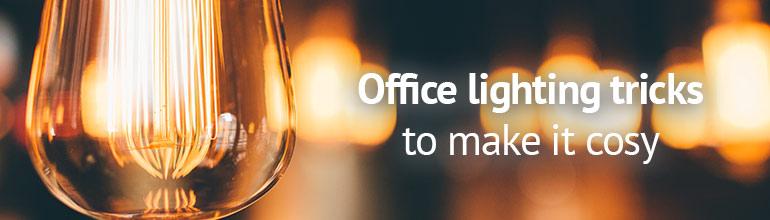 Cosy office lighting